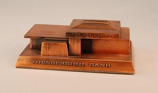 "22: Rehberger ""Thunderbird Bank"" bank"