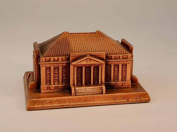 """24: Rehberger """"Yavapai County Courthouse"""" bank"""