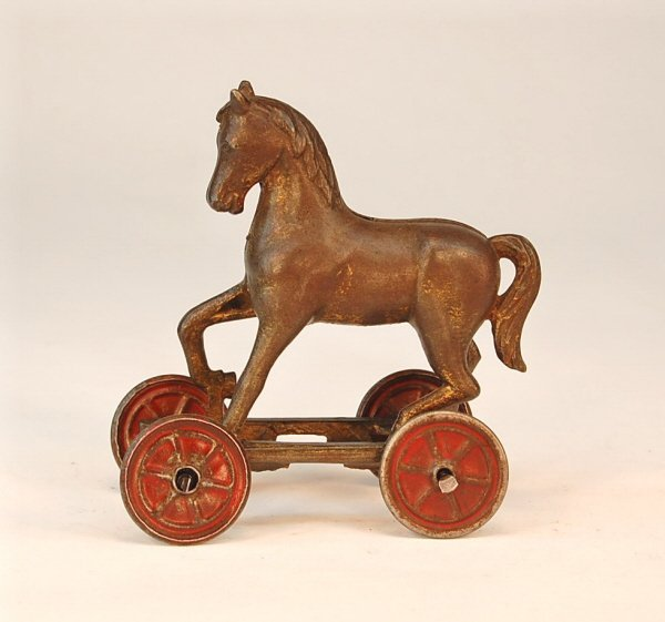 545: Horse on Wheels bank