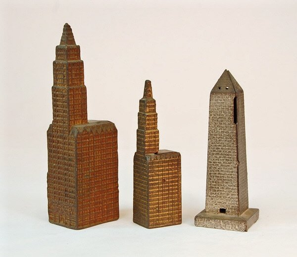 "9: ""Washington"" Monument, Large & Small Woolworth banks"
