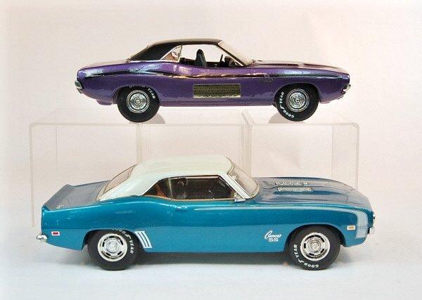 400: Lot of Four Jim Beam Automotive Decanters