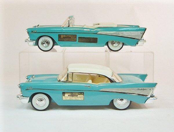 401: Lot of Five Jim Beam Automotive Decanters