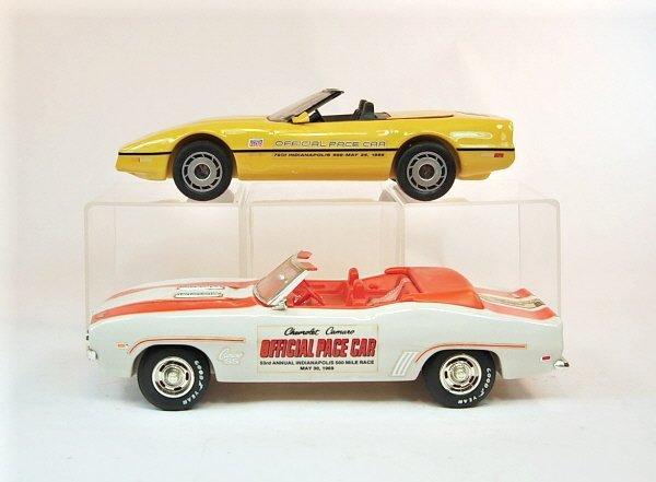 403: Lot of Four Jim Beam Automotive Racing Decanters