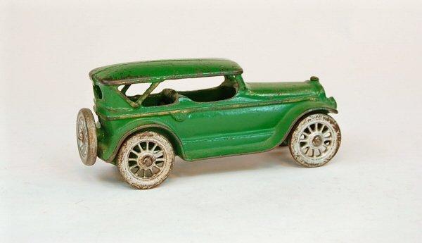 416: Early Automotive toy:  Sedan