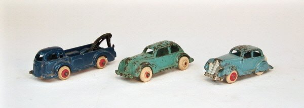 417: Lot of Three 30's Automotive toys