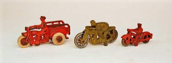 421: Lot of Three Motocycles