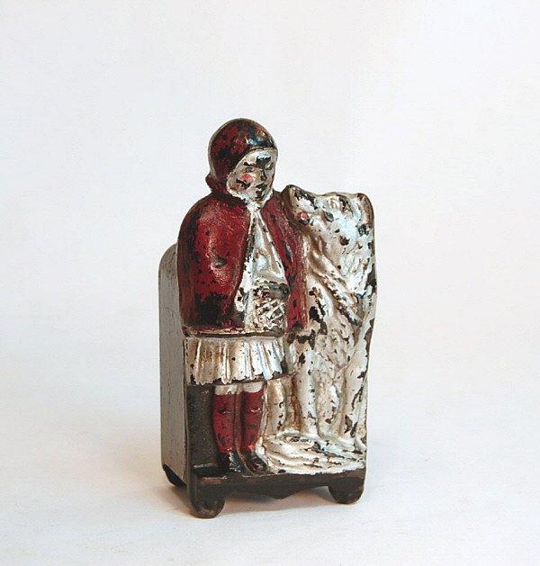 743: Bank: Harper Red Riding Hood Safe