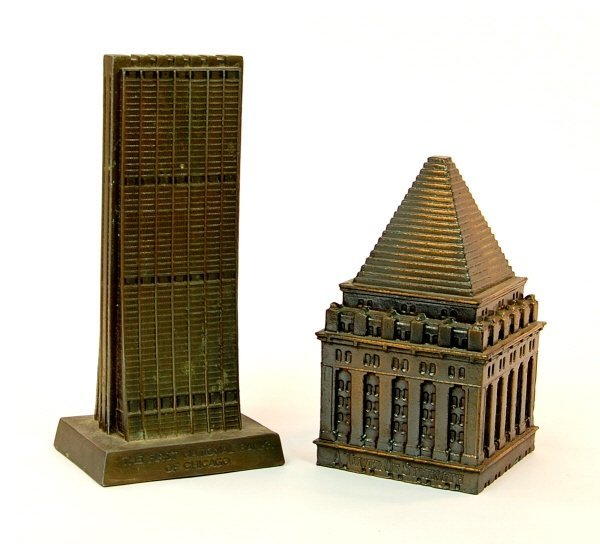 6: Lot of 2 building banks