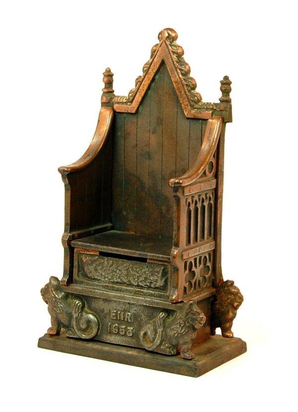 19: ERII 1953 Throne bank