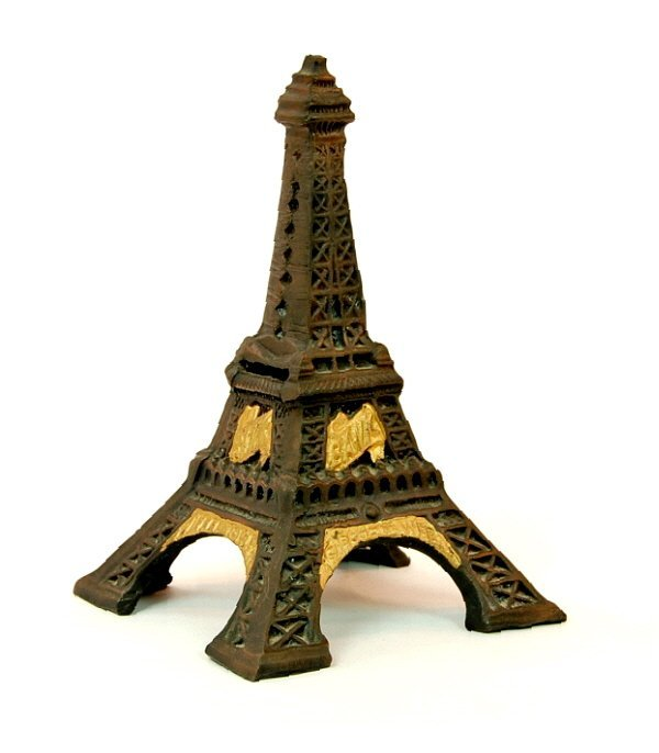 21: Eiffel Tower bank (modern)