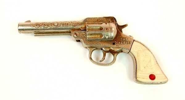 "402: ""The Sheriff"" cap pistol"
