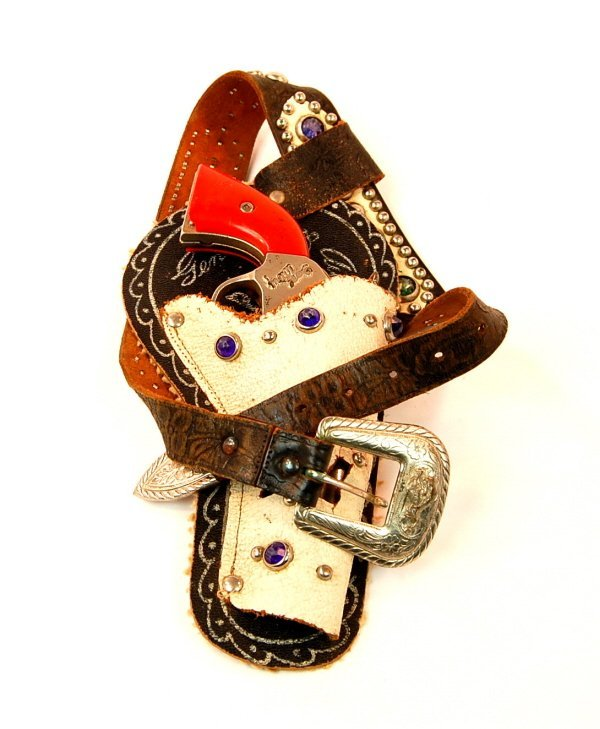 "421: ""Gene Autry"" cap pistol in Holster"