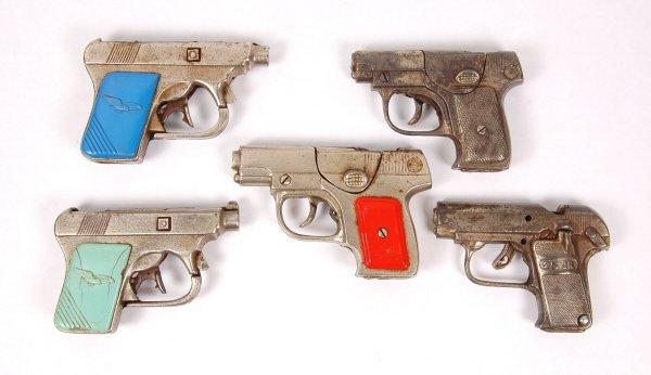 11: 5 Cap Guns