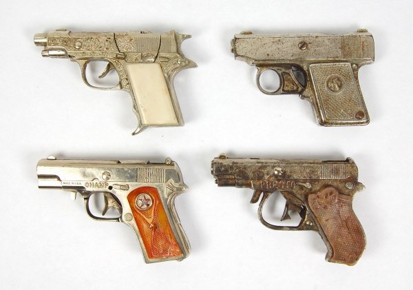 12: 4 Cap Guns