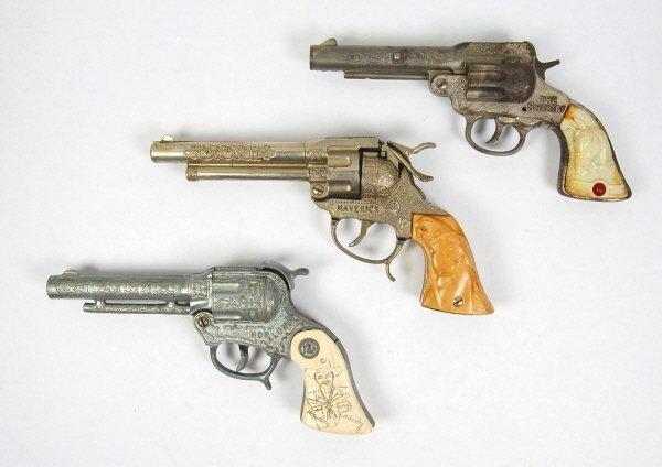 13: The Sheriff, Maverick, & Hopalong Cap Guns