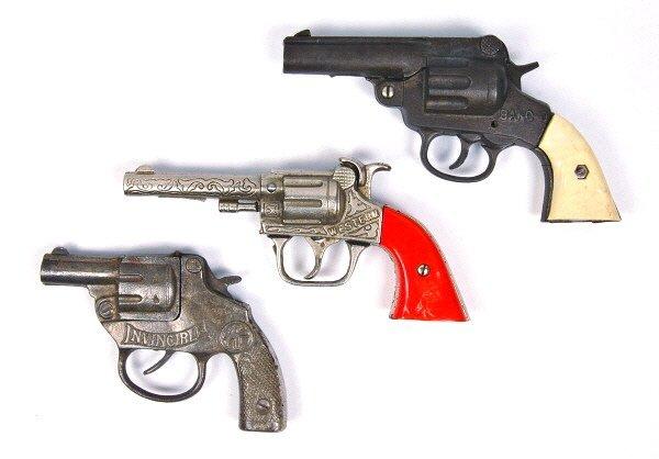 17: Invincible, Western, & Bang-O Cap Guns