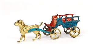 63: Dog Cart penny toy