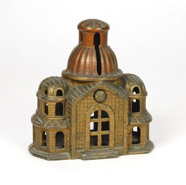 408: Medium Domed Mosque building bank