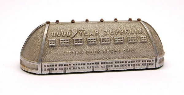 "419: ""Goodyear Zeppelin Airship Dock"" bank"