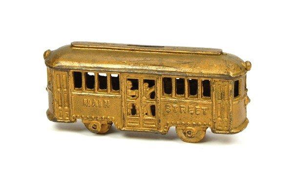 "21: ""Main Street"" Trolley (w/o people) bank."