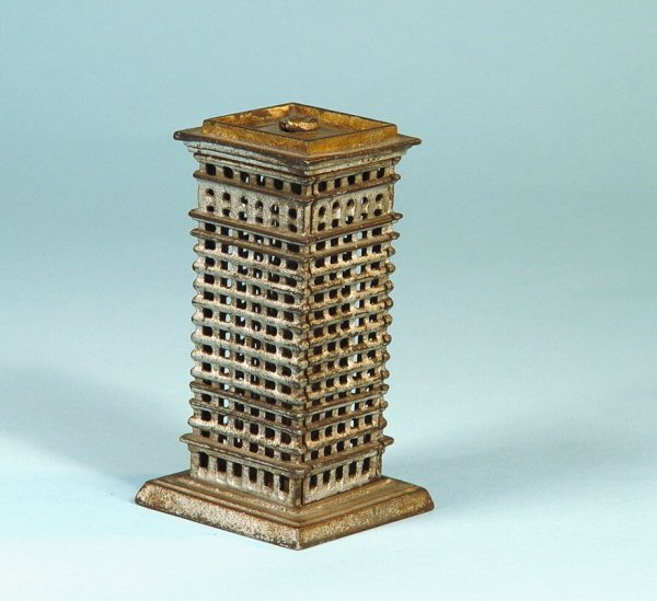 404: Small Highrise Cast Iron Building Bank