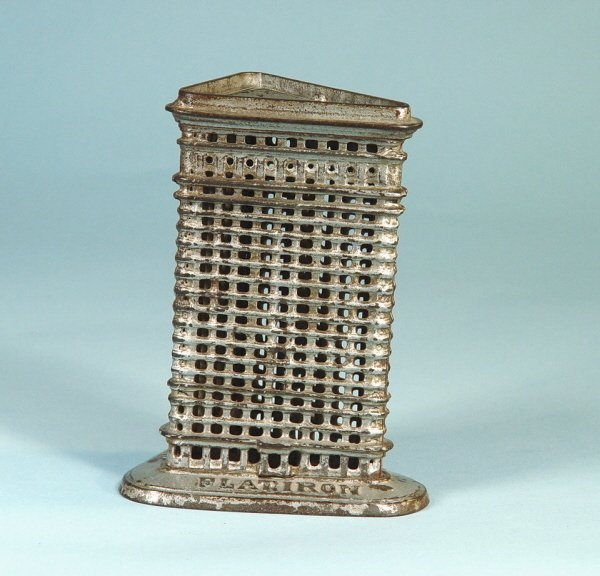 409: Medium Flatiron Cast Iron Building Bank