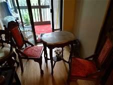 antique Oriental table
