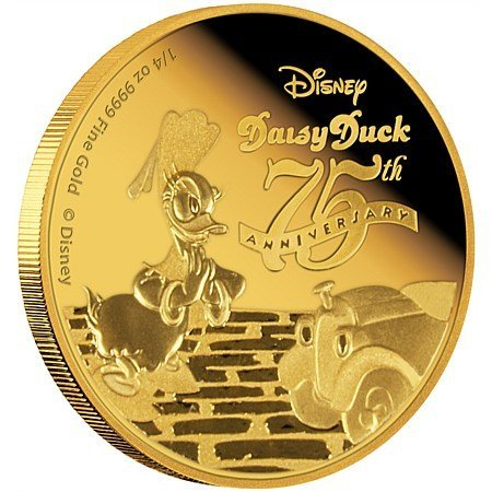 2,5 OZ Gold Coins: Darth Vader, Scrooge McDuck in proof - 3