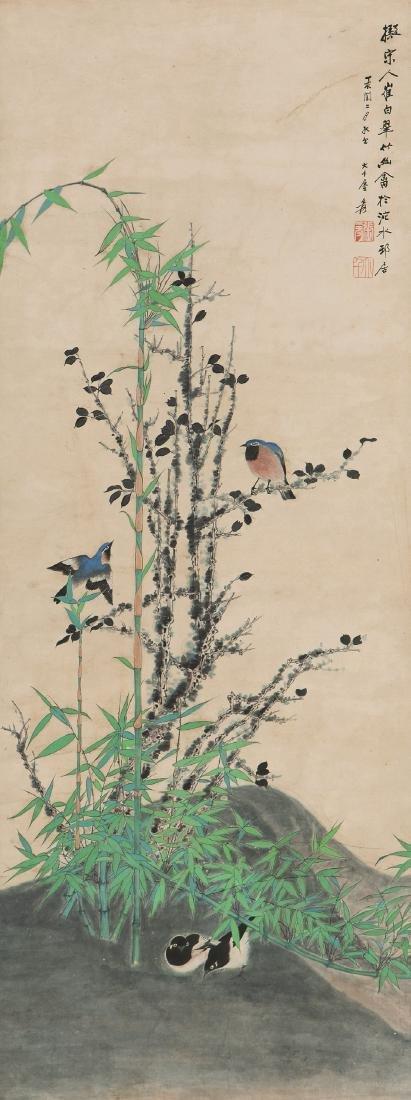 ZHANG DA QIAN BIRD