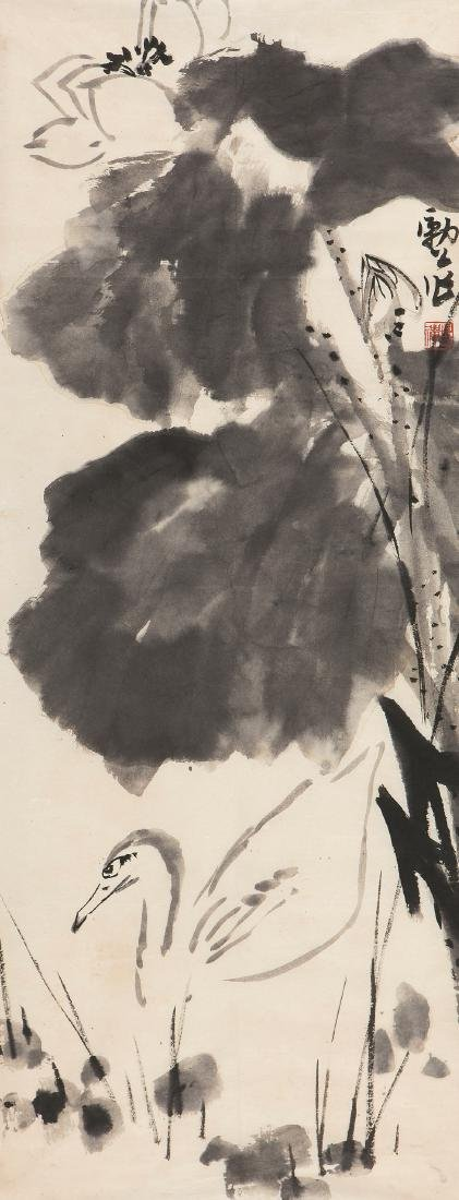 LI KU CHAN FLOWER & BIRD
