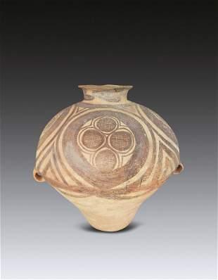 A Chinese Clay Jar Majiayao Culture(BC3300-BC2100)