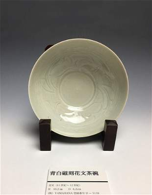 A Chinese Qingbai Glazed Bowl Song Dynasty(960-1279)