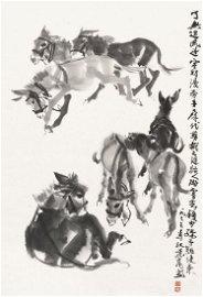 HUANG ZHOU Seven Donkeys