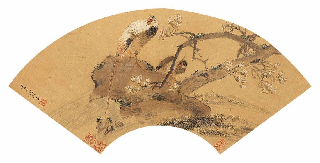 DONG XIAOAN Flower and Bird