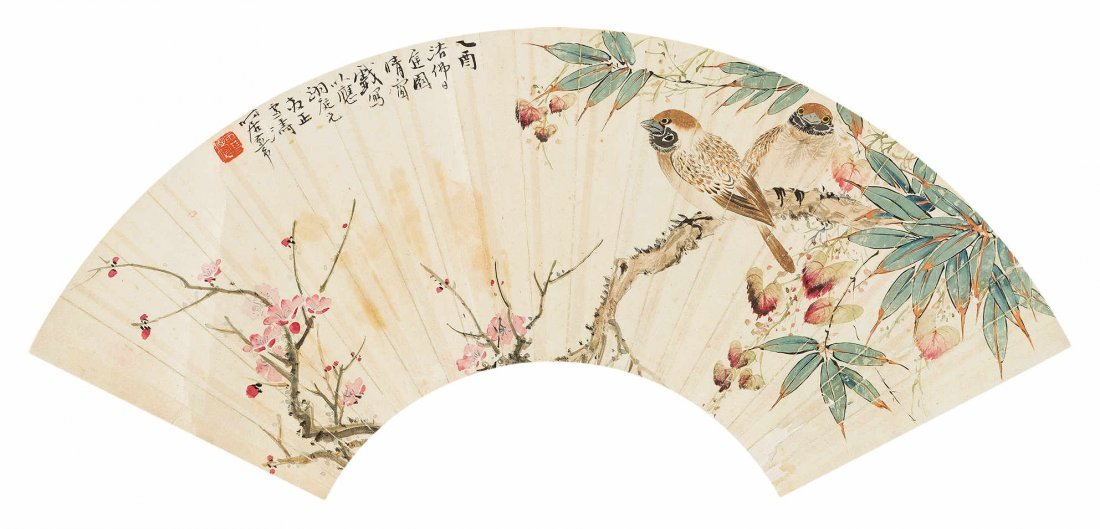 WANG XUETAO Flower and Bird