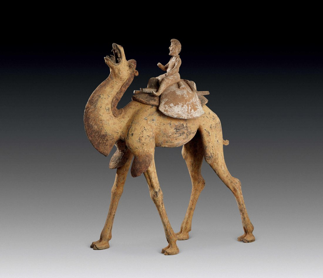 Tang Dynasty Painted Pottery of Camel