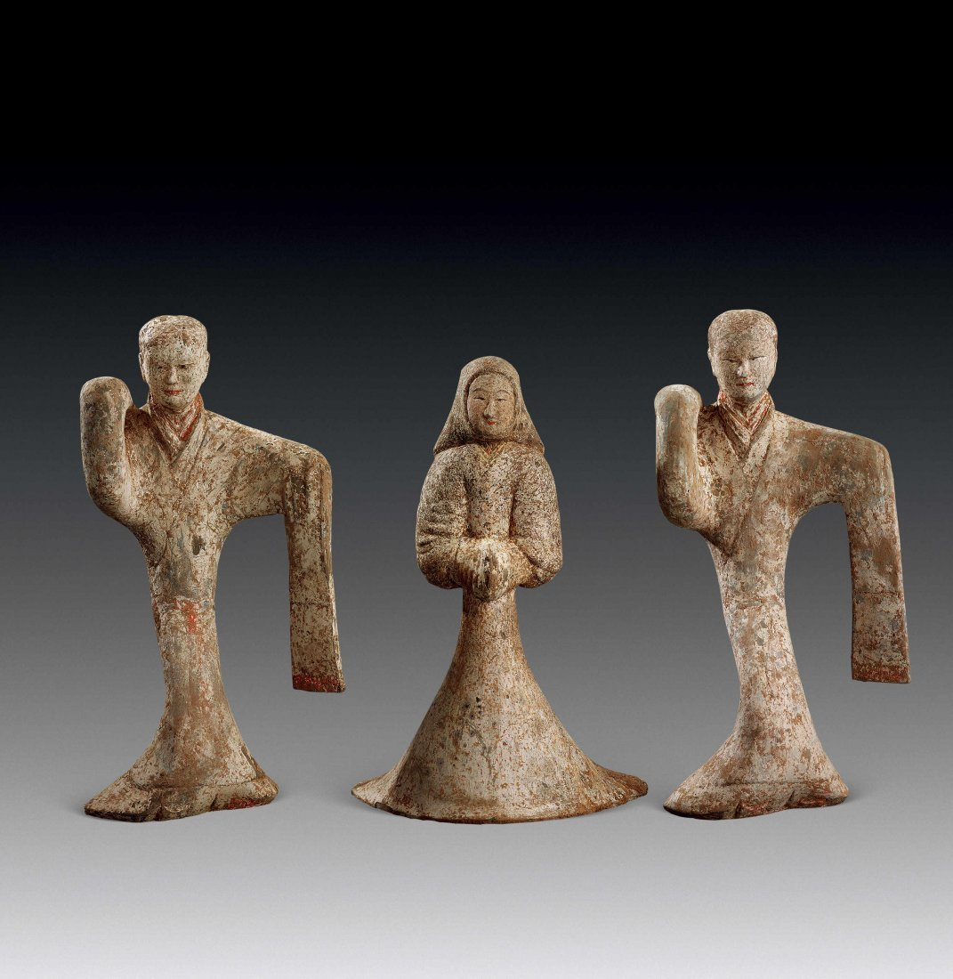 Han Dynasty Dancing Figurine