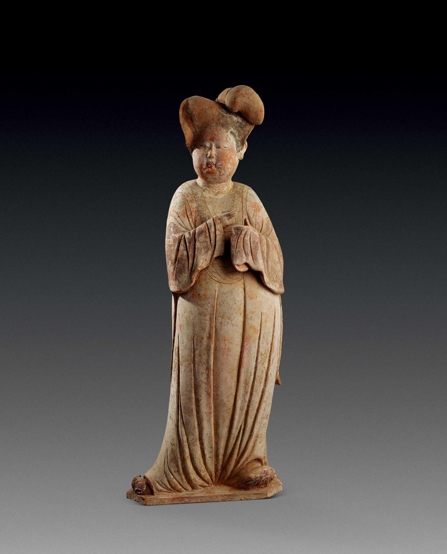 Tang Dynasty Figurine of Fat Beauty