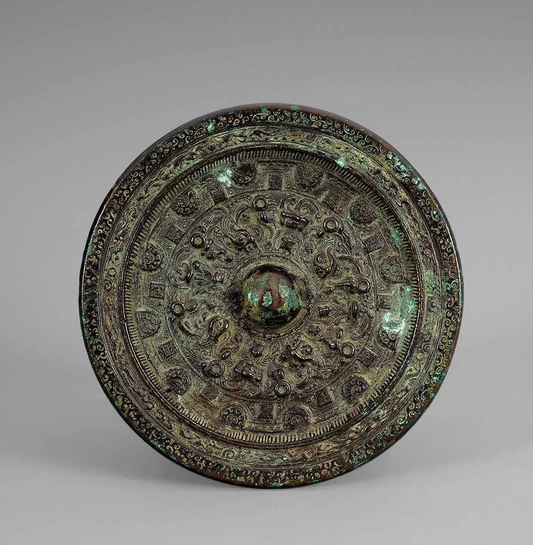 Han Dynasty Copper Mirror