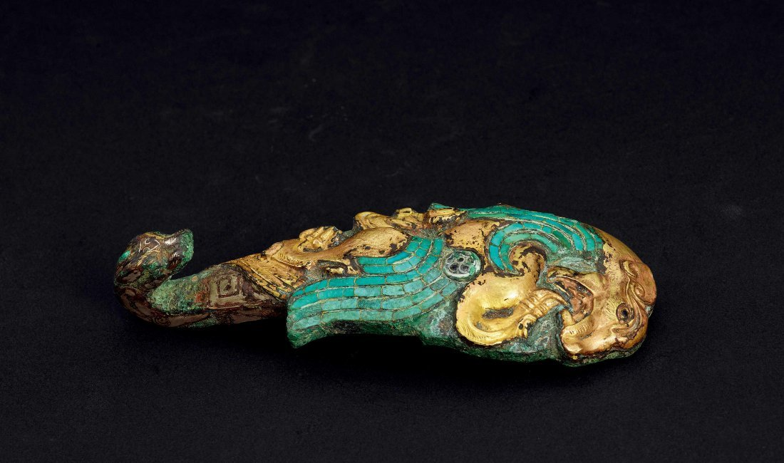 Warring States Period Gold, Silver and Treasure Inlaid