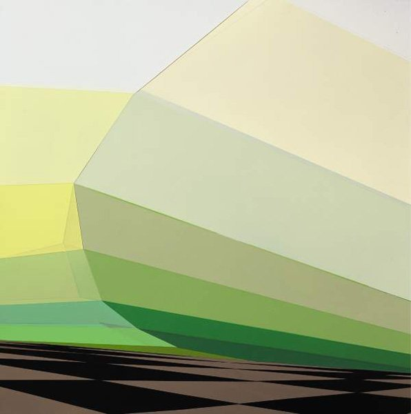 20:  TORBEN  GIEHLER  b. 1973  Untitled, 2002  Acrylic