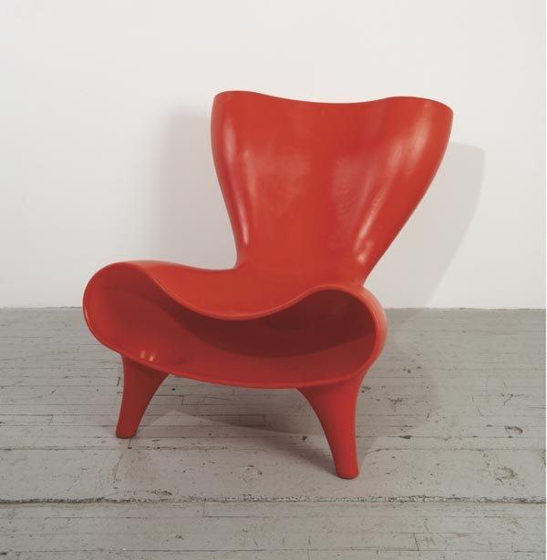 "1010:  MARC  NEWSON  b. 1963  ""Plastic Orgone Chair"", c"