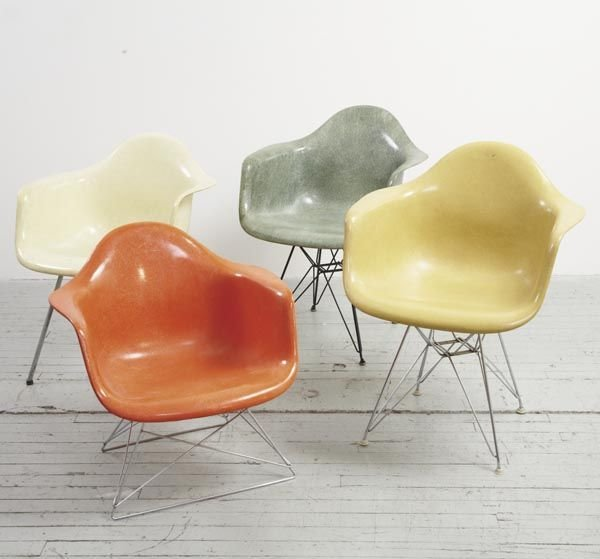 1015:  CHARLES & RAY EAMES  1907-1978, 1912-1988  Two