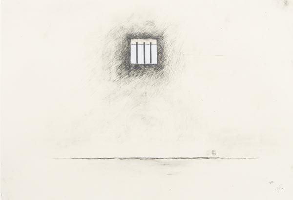 1017:  ROBERT  GOBER  b. 1954  Untitled, 2000  Lithogra