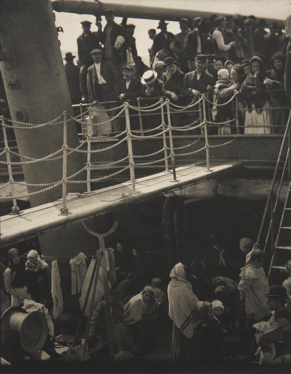 56:  ALFRED  STIEGLITZ  1864-1946  The Steerage, 1907