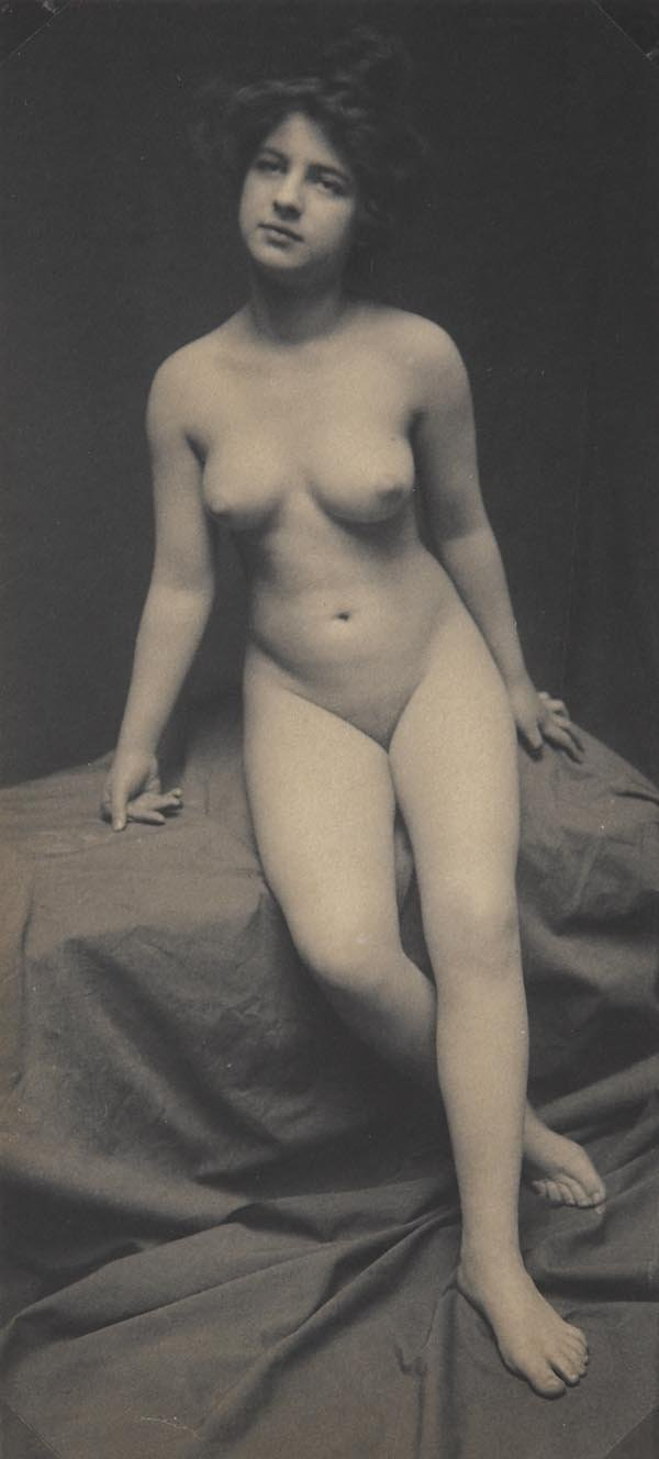 58:  ATTRIBUTED TO FRANK  EUGENE  1865-1938  Nude Study