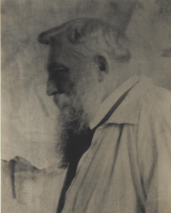 62:  GERTRUDE  KÄSEBIER  1852-1934  Auguste Rodin,