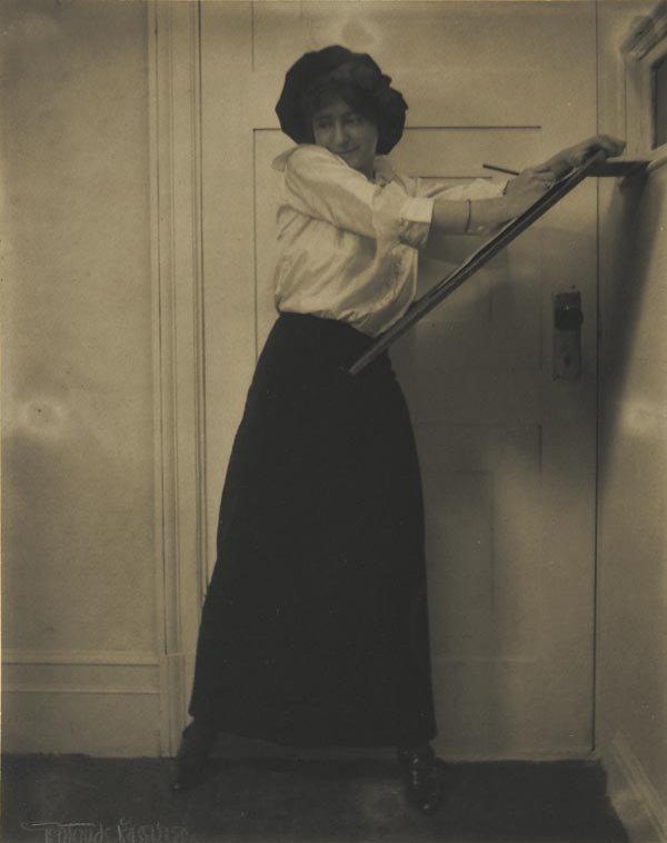 63:  GERTRUDE  KÄSEBIER  1852-1934  The Sketch Art
