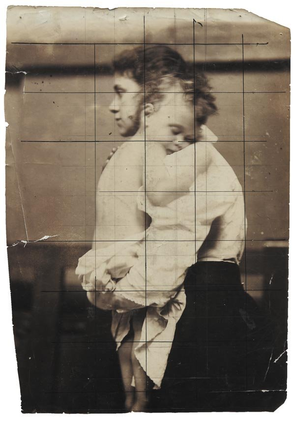 72:  FRANK  BRANGWYN  1867-1956  Woman Holding Sleeping