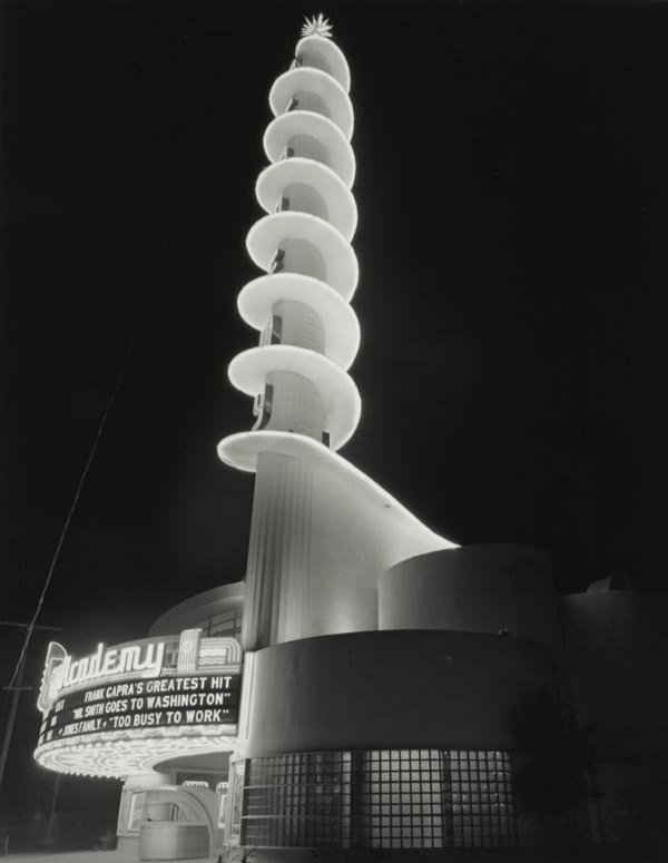 280:  JULIUS  SCHULMAN  b. 1910  Academy Theater, 1940;